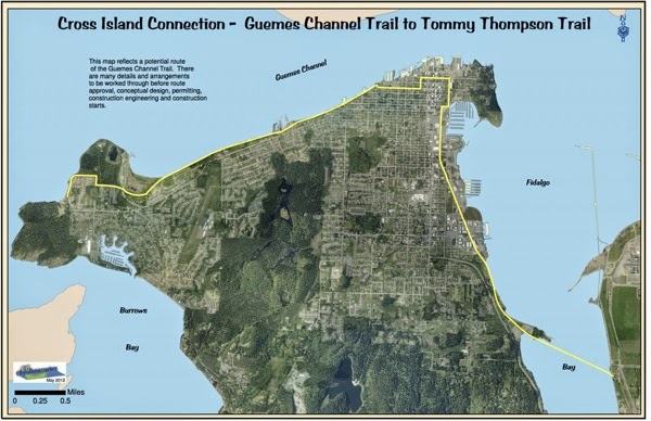 Anacortes Guemes Channel Trail