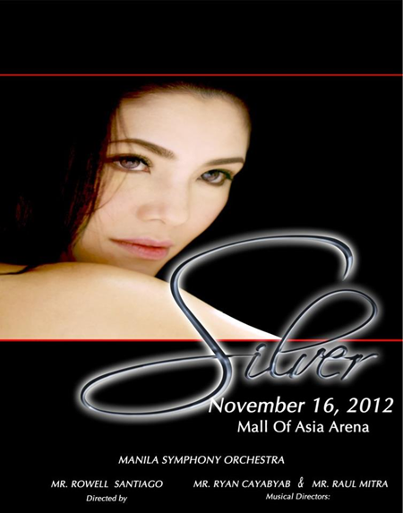 Regine Velasquez - 'Silver' concert poster