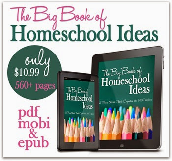 The Big Book of Homeschool Ideas is perfect for new homeschoolers, homeschooling preschoolers, homeschooling teenagers, and organizing your homeschool day #homeschool