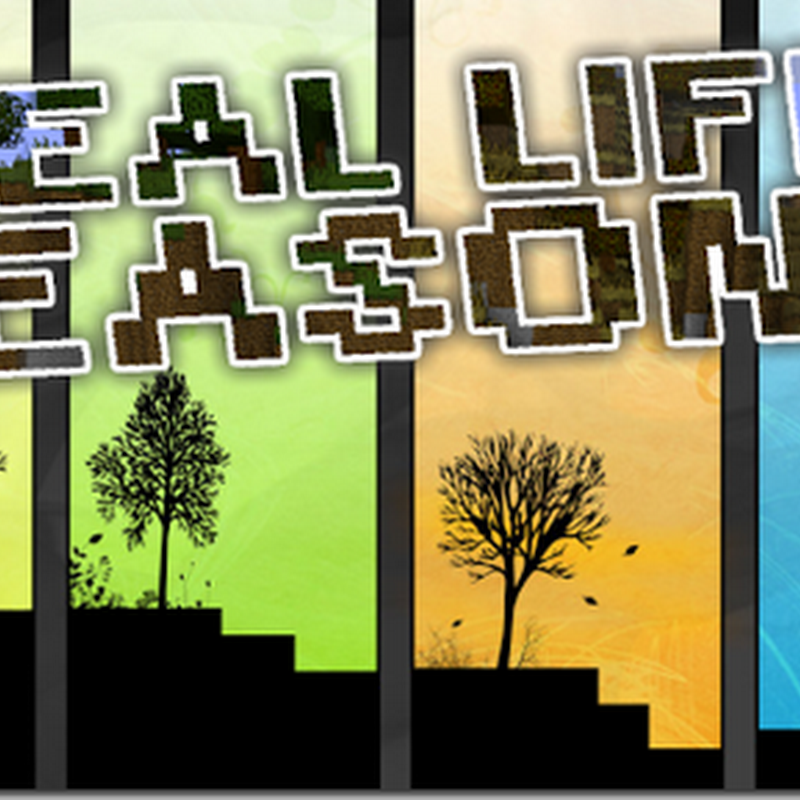 Minecraft 1.4.7 - The Real Life Seasons Mod