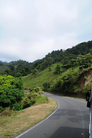 Transport Costa Rica: Pe drum spre La Fortuna