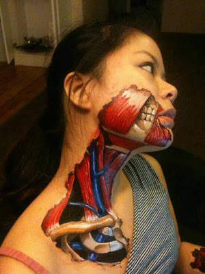 body painting cuello