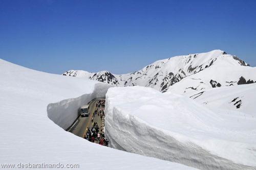 parede de neve 20 metros japao desbaratinando  (7)