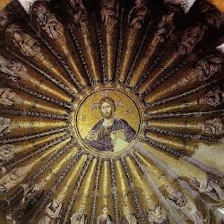 45 - Mosaico de la bóveda de San Salvador de Cora