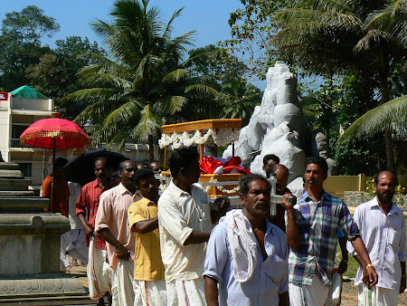 Traditions of Kerala: burial of a Catholic man