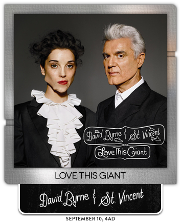 Love This Giant by David Byrne & St Vincent