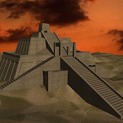 06.- Zigurat de Ur, reconstrucción
