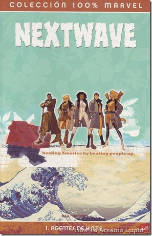 2011-11-24 - Nextwave de Warren Ellis