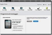 Apple rottama iphone e ipad anche in Italia