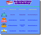 Elementary Place – This website has many topics that interest kids.  For each topic, there is a story where kids get to make the decisions, there is also an activity and a list of books about that topic.