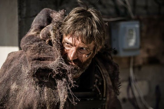 Sharlto Copley as Kruger in Elysium