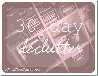 thirty day declutter