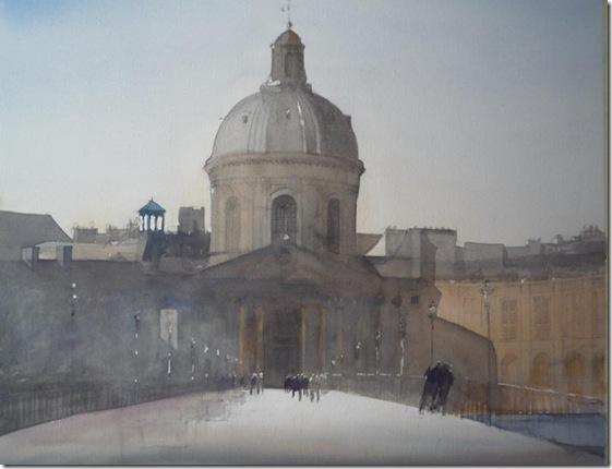 9 Palais de lInstitut 57 x 75cm