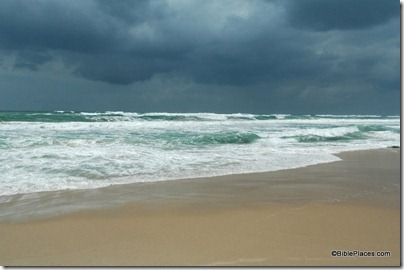 Beach in Gaza Strip, tb040305579