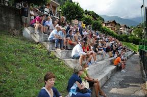Il pubblico di Bovegno durante la finale Bosio - Radic