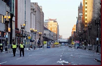 Foto Pasca Ledakan Di Boston Amerika Serikat6