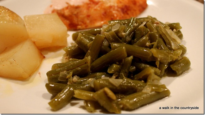 old fashioned green bean recipe