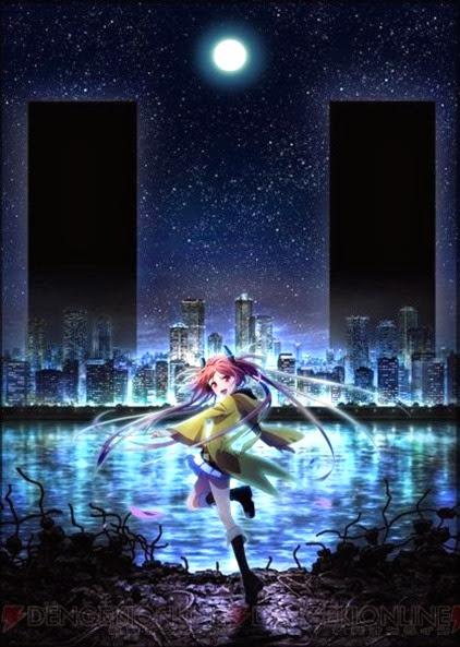 Poster da Adaptação para anime de Black Bullet