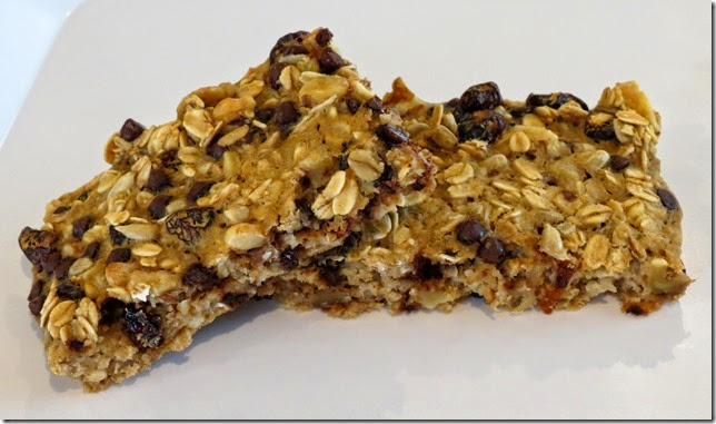 Gluten Free Cranberry Walnut Oatmeal Breakfast Bars (June SRC)