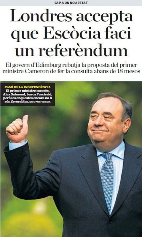 Escòcia e independéncia