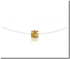 Alexander Fuchs Yellow Diamond Necklace
