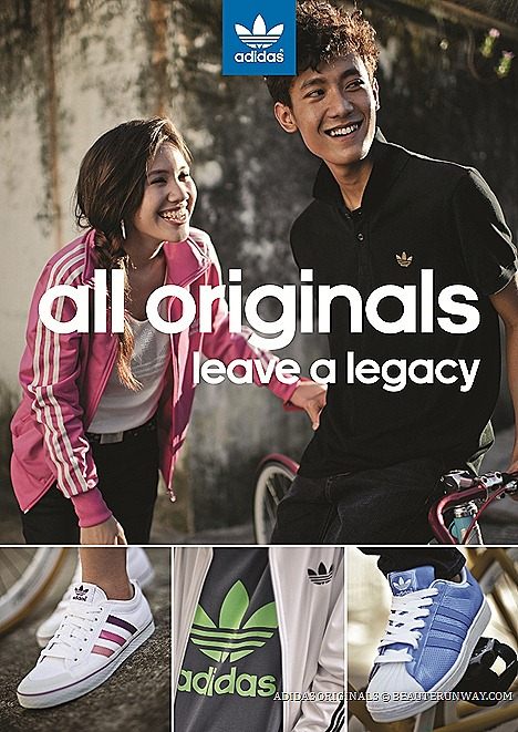 ADIDAS ORIGINALS ALL LEAVE A LEGACY STREET STYLE CHALLENGE WITH SUPERSTAR SHOES FIREBIRD ADISTAR RACER TREFOIL TEE   SINGAPORE $20,000 PRIZE
