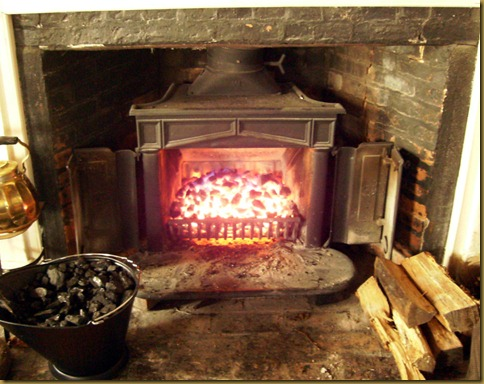 The Pipe and Grumble: Burning Coal in a Franklin Stove