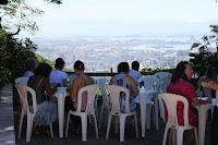 Almoço com essa vista do Rio