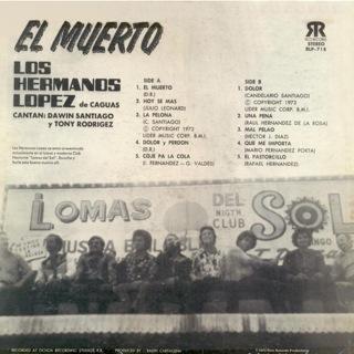Orquesta Hermanos Lopez  El Muerto II