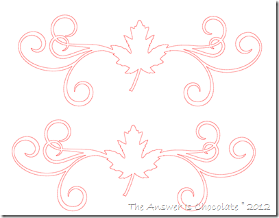 Maple Leaf Border
