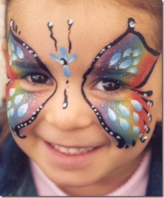 maquillaje mariposa halloween (7)