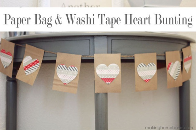 Paper-Bag-and-Washi-Tape-Heart-Bunting