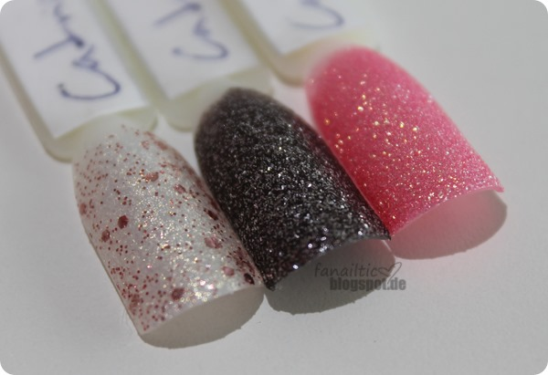 "Catrice crushed crystals ""oyster&champagne"", ""stardust"", ""call me princess"""