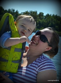 Jaxon and Mommy