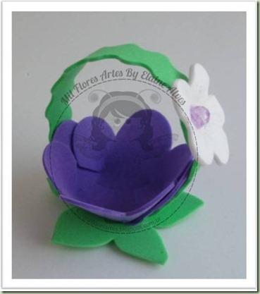 Forminha doce lilás