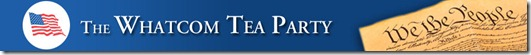 Whatcom Tea Party banner