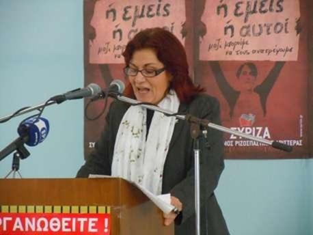 Ομιλία από την Θεανώ Φωτίου για τις τελευταίες εξελίξεις στην Παιδεία