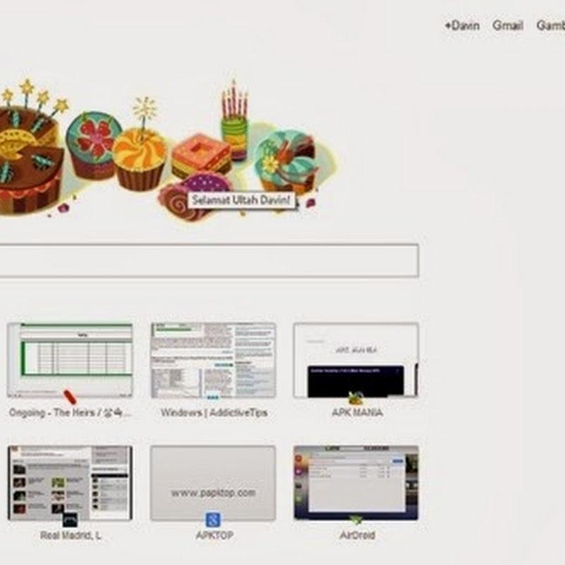 Google Mengucapkan 'Happy Birthday' Kepada Pemilik Akun Google+