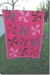 bake sale &amp; pink quilt 068