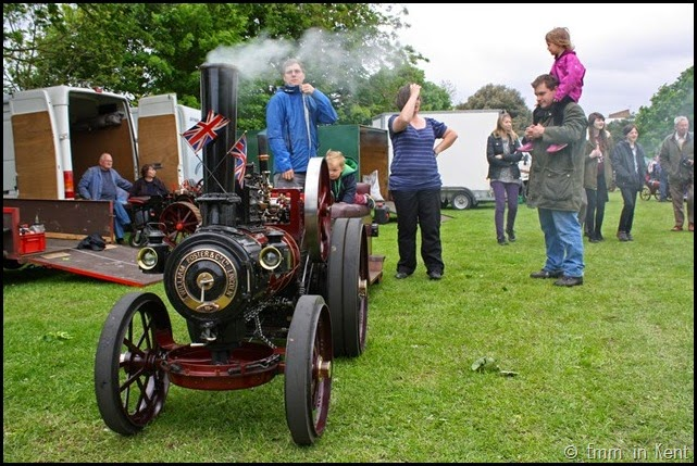 Vintage Miniature Steam Engine -William Foster & Co, Lincoln