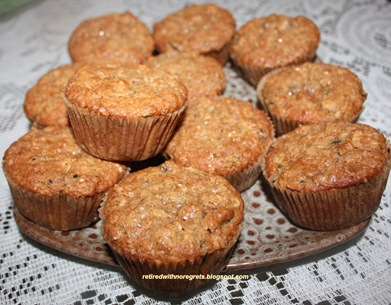 Fresh Fig Oatmeal Muffins - Gluten-Free (Ready to serve) B