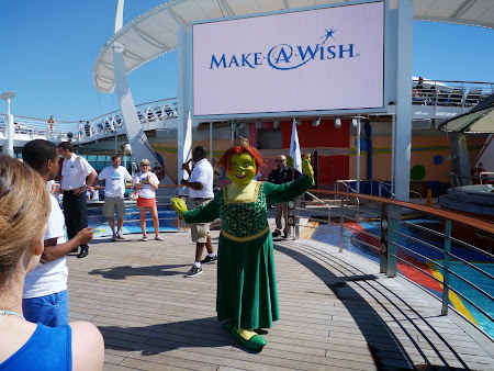 Croziera pe Mediterana: Fiona al lui Shrek