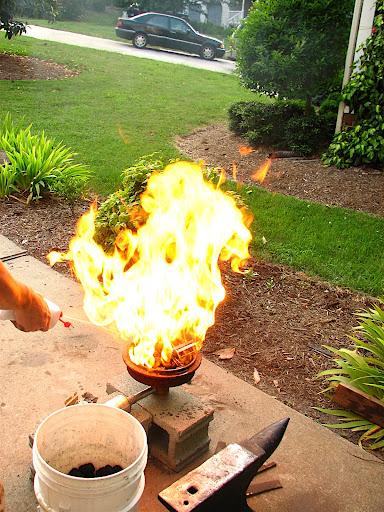 Charcoal Forging