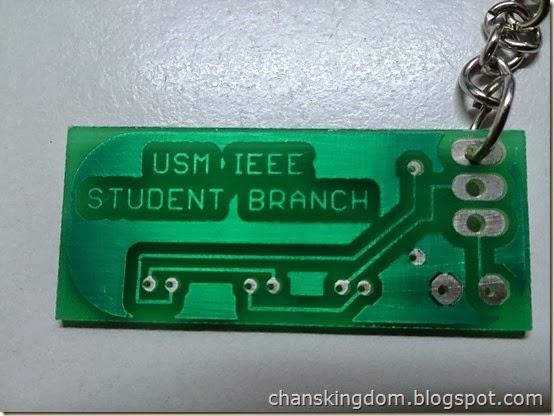 IEEE USM Student Branch keychain