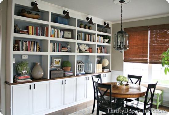 DIY bookcases