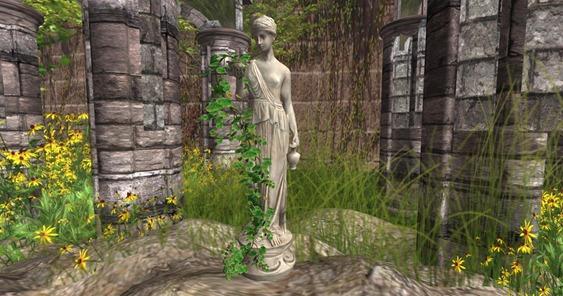 Aphrodite Statue in SL_001