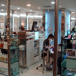 nail salon at shibuya 109 in Shibuya, Tokyo, Japan