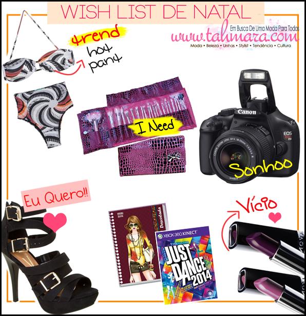 Wish List - Natal