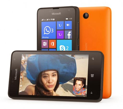Microsoft Lançou o Nokia Lumia 430 smartphone com 1GB de RAM, tela de 4 polegadas, Dua Core Snapdragon 200