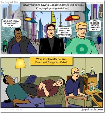 Google Glass Jokes
